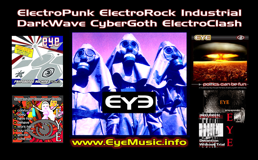 EYE Electronic Music Canberra Australia EDM IDM Electro Industrial Synth Punk Pop Rock Dark New Wave Dance Music Bands Musicians Groups Producers