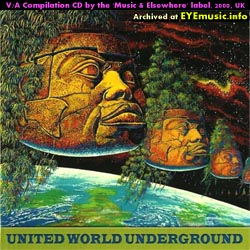 Music and & Elsewhere UK England English British Cassette Tape Record Label United World Underground CD compilation album art jacket cover 1990s 90s 00s 2000s alternative indie diy bands groups musicians music artists network Great Britain Europe Australia