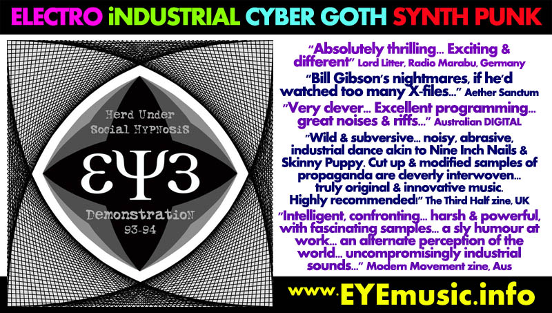 Early British German American Canadian Heavy Alternative Electro Industrial Cyber Goth Synth Wave Pop Punk Metal Dance Rock Music Bands Groups Austin Detroit Chicago New York Los Angeles Toronto Montreal London Sheffield Leicester Berlin Koln Frankfurt Leipzig Hamburg Munich