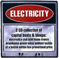electricity volume 1 cd album cover