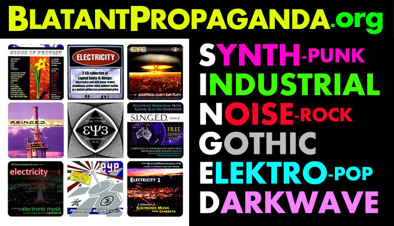 Australian Alternative Music Bands Hard Dark Heavy Electronic Industrial EBM Electro Synth Punk Pop Indie Alt Rock Protest Songs EDM Electronica Dance Big Beat Cyber Goth Intelligent IDM Darkwave Hardstyle Techno Psy Trance Drum Bass DnB D&B Acid Witch House Glitch Hop Power Noise Breakbeat Digital Hardcore DHC Dub Step Darkcore Breakcore Artists Groups Projects Producers in from Melbourne Brisbane Sydney Newcastle Perth Canberra Adelaide Wollongong Gold Sunshine Coast New Zealand Auckland Christchurch Wellington NZ