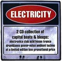 electricity volume 1 cd album cover